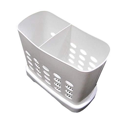 2 Divided Cutlery Storage Holder Spoon Chopsticks Basket Kitchen Organizer New