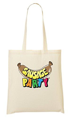 C+P Sausage Party Funny Tragetasche Einkaufstasche