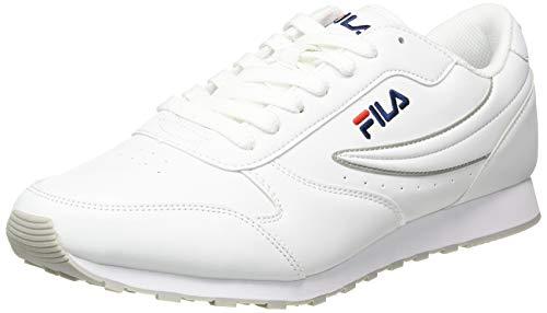 FILA Orbit men zapatilla Hombre, blanco (White), 43 EU