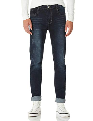 Demon&Hunter 808B Series Men's Skinny Fit Slim Jeans DH8081(33)
