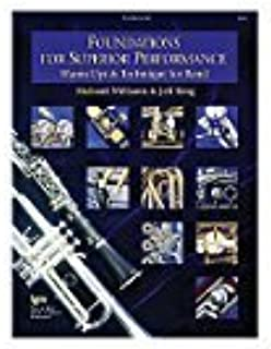 Foundations for Superior Performance: Euphonium B.C. by Richard Williams, Jeff King (1998) Sheet music