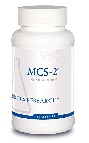 Biotics Research MCS 2 Metabolic Clearing Support, Liver Support, Potent Antioxidant Formula, Detoxification Support, Milk Thistle, Red Clover. 90 Capsules