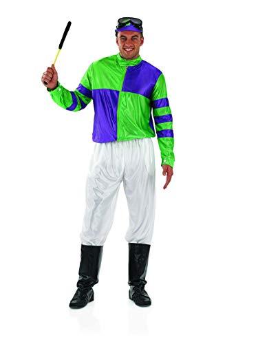 Fun Shack Verde Jockey Disfraz para Hombres - XL