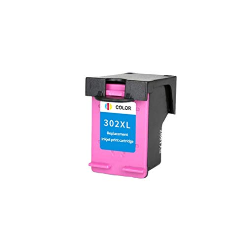 CMDZSW Cartucho de Tinta Compatible con 302XL para HP 302 XL para HP302 para HP DeskJet 2130 2135 1110 3630 3632 OfficeJet 3830 3834 4650 (Color : 1Color)