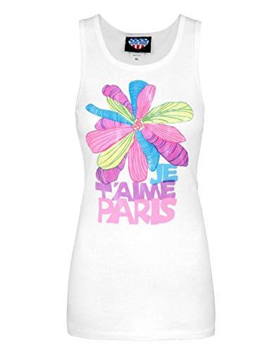 Junk Food Je t'aime Paris Women's Vest