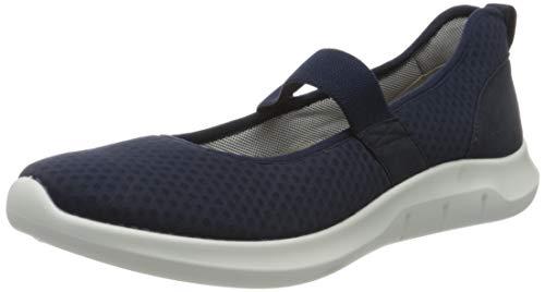 Hotter Women's Flow Active Shoe Navy 7 US Active Shoes