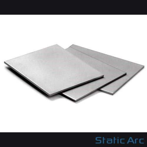 Placa de metal cuadrada de láminas de acero dulce, cortes de 0,8 / 1,0 / 1,2 / 1,5 / 2,0 / 3,0 / 4,0 / 5,0mm, 0.8x300x300mm, 1
