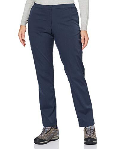 Jack Wolfskin Damen JWP WINTER PANTS W elastische Softshellhose, night blue, M
