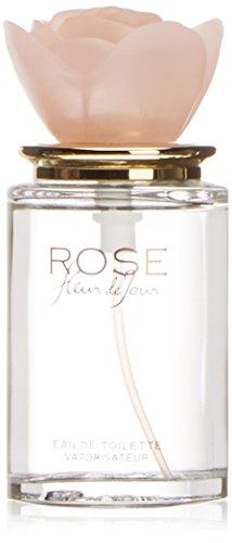Fleur de jour Rose - Agua de colonia con vaporizador, 50 ml