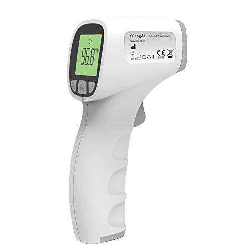 Forehead Thermometer for Adults(Without Batteries), Non Contact Thermometers, Forehead and Ear Thermometer for Baby Kids & Adults