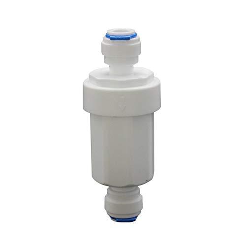 XCQ Gerade bis 3/8 Zoll Micro Wasserfilter-Reinigungs-Edelstahl-Frontgeflecht langlebig 0606