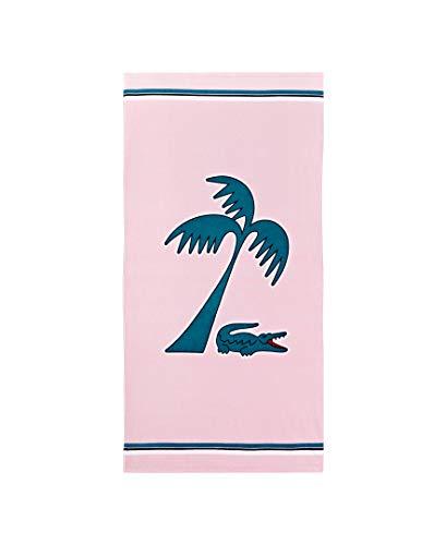 Lacoste Murphy - Toalla de Playa (36 x 72 cm), Color Rosa