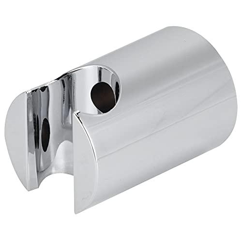 Soporte para cabezal de ducha, soporte para cabezal de ducha de mano con tornillos Tubo de expansión Montaje en pared Cabezal de ducha de mano para baño(Plata)