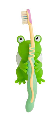 Mommys Helper Toothbrush Holders, Froggie and Friend