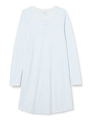 Sanetta Mädchen Sleepshirt Heaven Nachthemd, blau, 128