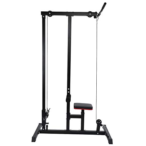 small size LAT Pulldown Machine Training Weighs Low Bar Fitness In Home Gym Sports