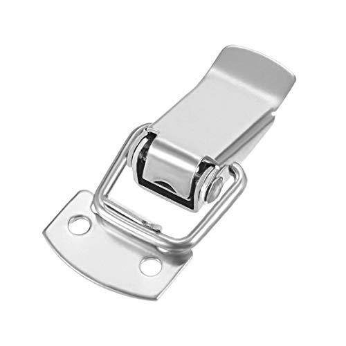 Powertool - Juego de 4 cierres de acero inoxidable para armarios, cajas de herramientas, taquillas