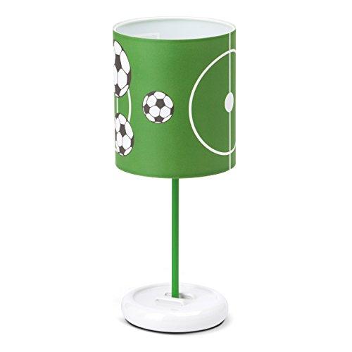 Brilliant AG G56248/74 Brilliant Lampe a poser LED intégrée Soccer 12x0,06W, Plastique, 0.72 W, Vert/Blanc/Noir