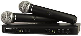 Shure BLX288/PG58 Wireless Microphone System