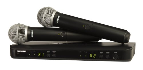 Shure BLX288/PG58 Dual Channel Wireless Microphone