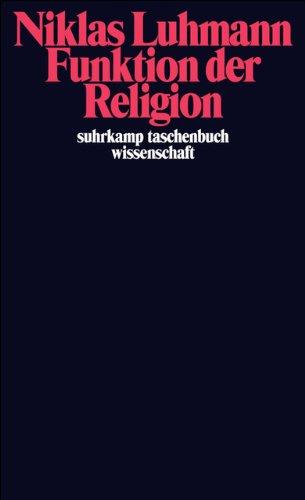 Funktion der Religion (suhrkamp taschenbuch wissenschaft)