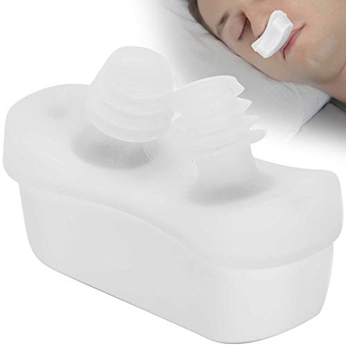 Electric Portable Anti Snore Device, Nasal Dilator for Stuffy Nostrils, Nose Purification Machine, Professional Portable Breathing Aids(LF-03white)