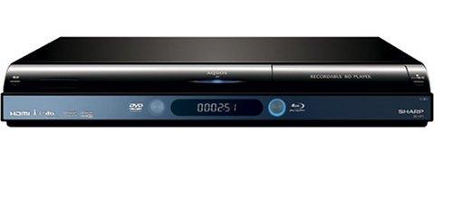 シャープ ブルーレイプレーヤー ハイブリッド録画機能付 AQUOS BD-HP1