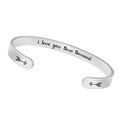 YUYOUG❤ Cadeau Saint Valentin Mode Multicouche Creux Fait Main Pendentif Bracelet Titane Acier Bracelet Ornements Charme Exquis Acheter Maintenant !