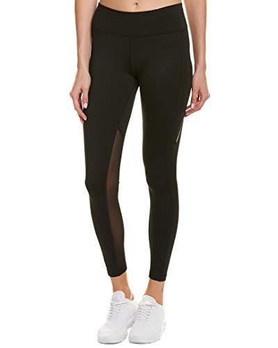 Nike Power Training Tights – Leggings da Donna, Donna, Maglie, 897519-010, Nero/Nero/Trasparente, S