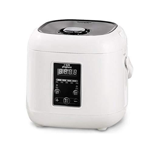 ZXCY Multifunktions Haushalts Lebensmitteldampfer Smart Mini 2L Reiskocher 24 Termin Mit LED Anzeige Für Haferbrei-Suppenkuchen