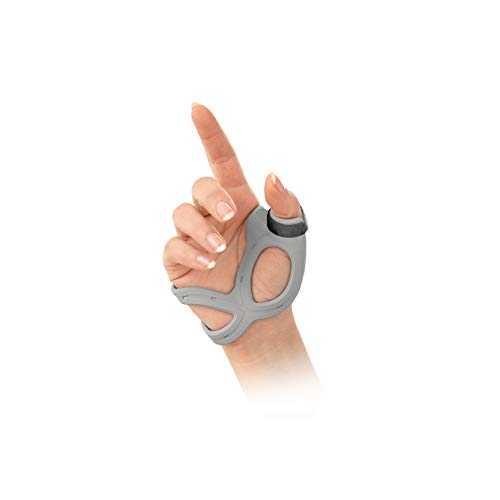 FLA 3D Adjustable Left Thumb Brace, Large - Grey