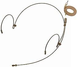 Professional Headset/Headworn Microphone JK MIC-J 071S Compatible with Sennheiser Wireless System - Omnidirectional Mic - Super Lightweight & Creative Design & Smallest Cartridge