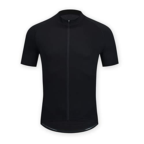 ELNOCSON Fahrradtrikot für Herren, Fahrradbekleidung, Mountainbike Kurzarm, atmungsaktiv, elastisch