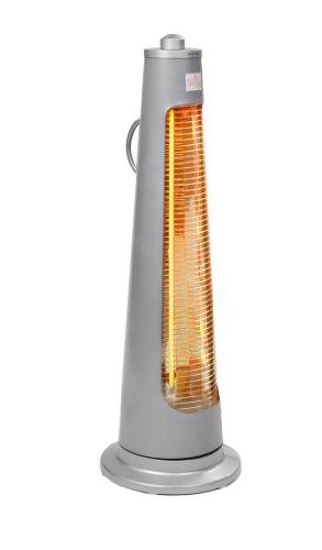 Firefly 900 Watt Oszillierender Infrarot-Heizstrahler (Quarz) Terrassenheizung, freistehend, 2 Leistungsstufen