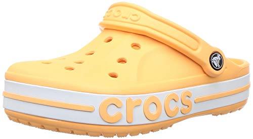 Crocs Unisex-Erwachsene Bayaband Clog Flip Flops Freizeit-und Sportbekleidung Adult, Orange (Melone), 39/40 EU