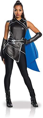 Rubies - Disfraz de adulto oficial Valkyrie, color negro Negro medium