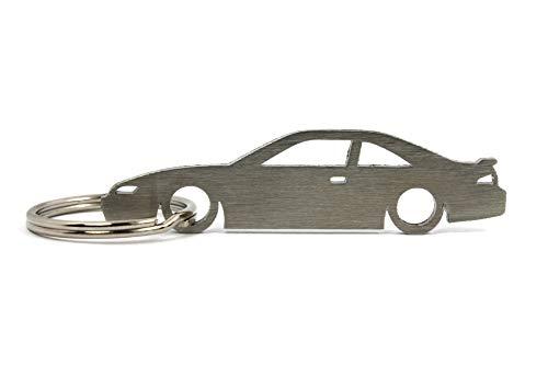 Boostnatics Silhouette Keychain Keyring for Nissan S14 240SX