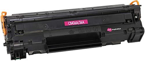 INK INSPIRATION® Premium Toner kompatibel für HP CB436A 36A Laserjet P1505 P1505n P1506 M1120 MFP M1120n MFP M1520 M1522n MFP M1522nf MFP Canon i-SENSYS LBP-3250 | 2.000 Seiten