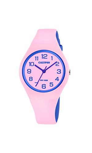 Calypso Quarz Uhr mit Kunststoff Armband K5777/1