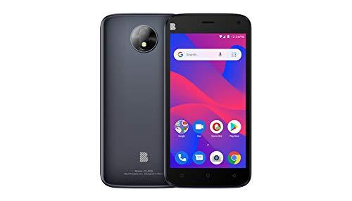 BLU C5 2019 Android Cell Phone 5''Display 16GB Internal Memory Dual Camera (Grey)