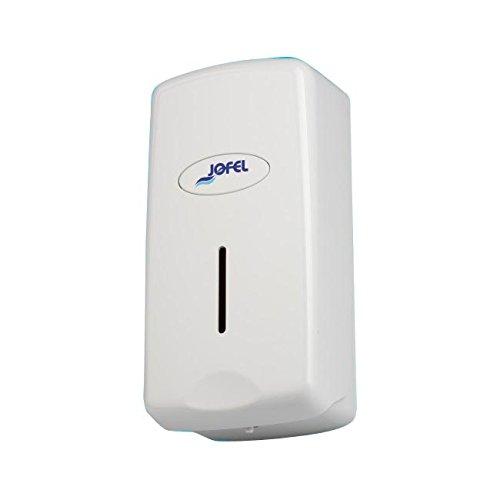Toilettenpapierhalter Großrollen Jofel ac27000–Seifenspender Smart für Kartusche, 0,8l, ABS, weiß