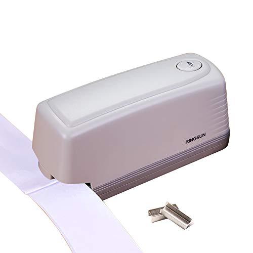 XuBa Grapadora eléctrica automática papel encuadernación papelería interesante