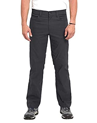 Eddie Bauer Men's Adventure Trek Pant (Gray, 32x30)
