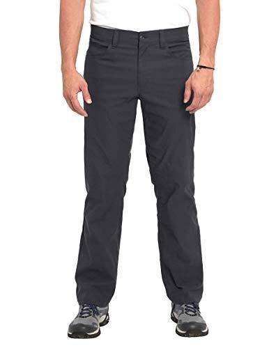 Eddie Bauer Men's Adventure Trek Pant (Gray, 32x30)