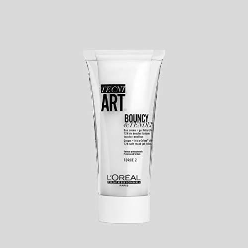 L Oréal Professionnel Paris -Tecni.Art Bouncy & Tender Crema Gel professionale 2 in 1, maggiore definizione dei ricci e protezione da crespo e umidità fino a 72 ore, 150ml