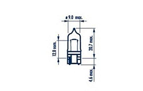 Narva 70717 glã ¼ hlampe, Blink Lampe (quantitã ¤ T 10)