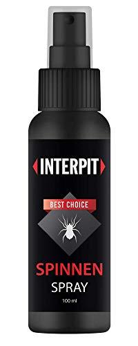 Interpit Anti Spinnen Spray, Hochwirksam zum vertreiben für Innen & Aussen - Mittel zum Spinnen vertreiben - Anti Spinne Ungeziferspray zur Spinnenabwehr - Spinnenspray 100ml