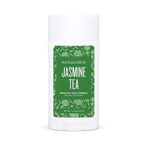 Price comparison product image Schmidt's Natural Deodorant for Sensitive Skin,  Jasmine Tea,  Stick for Women and Men,  3.25 Ounce