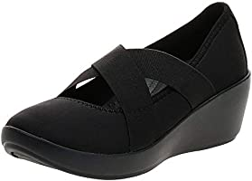Crocs Busy Day Strappy Wedge Womens Shoes