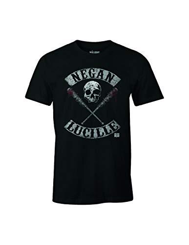Walking dead Negan Lucille Rockers, Camiseta para Hombre, Noir (Noir), Large